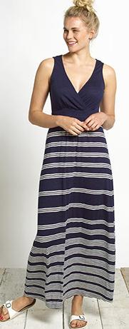 Bea Stripe Maxi Dress at Fatface £50