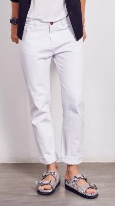 Hush White Boyfriend Jeans £75