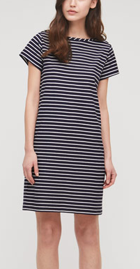 Jigsaw Multi-Stripe Boatneck Dress £59