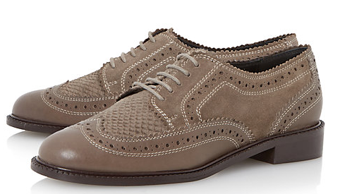 Dune Lace Up Brogue £75