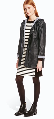 Petit Bateau Raincoat £132  in black, blue and yellow