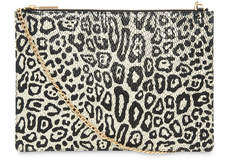 Leopard Snake Rivington Clutch now £68