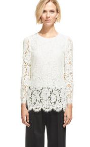 Lace Tunic Top now £112