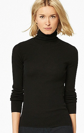 Uniqlo extra fine merino polo neck £24.90