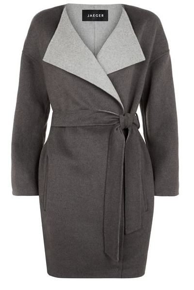 Waterfall coat now £119 also available in navy