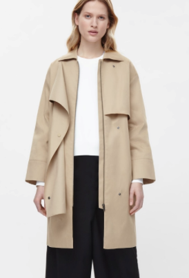 DECONSTRUCTED TRENCH COAT £150
