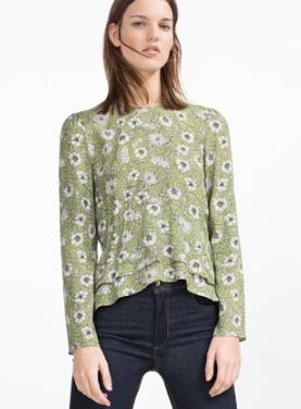 Zara Printed Blouse £39.99