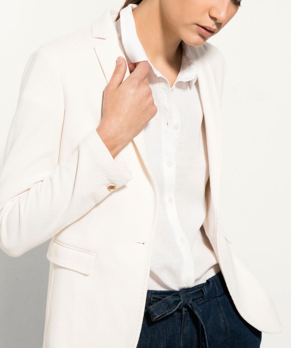 Massimo Dutti Ecru (looks pink to me!) Knit Jacket £79.95