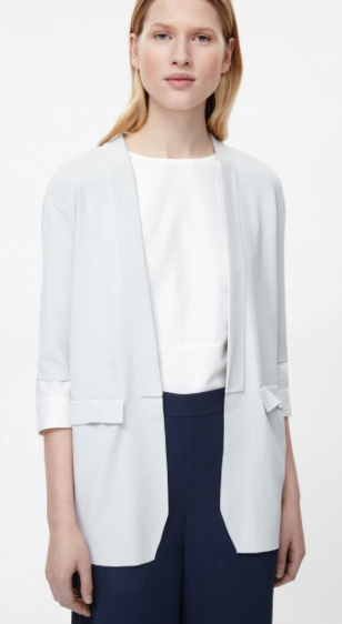 Cos Short Sleeve Knit Blazer £89