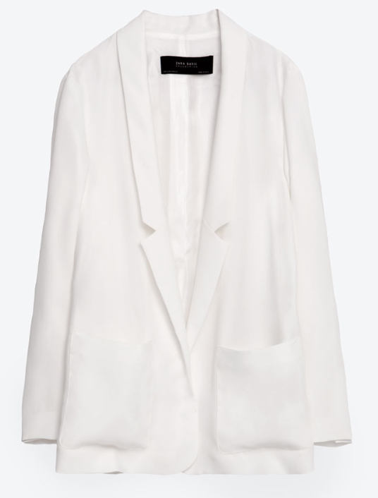 Zara Long Flowing Blazer £39.99