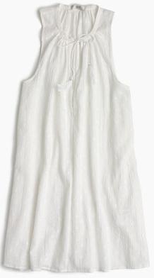 Sleeveless clip-dot tunic £69.50