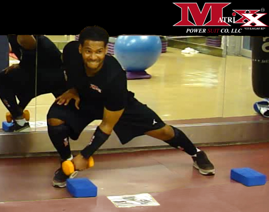 """I'm a young male athlete from NJ. I started using the Matrixx Power Suit about a year ago off and on, and working with Mr. Calvin Stewart to learn from his expertise, being he is one of the finest trainers in NY. My experience using the Matrixx Power Suit has been very successful, utilizing the ability to maximize my workouts and in half of the time. The vest gives you great stability and motion to move freely without the inconvenience of that bulky and uncomfortable feeling you get with many other weighted vests. Included with the Matrixx Power Suit are the arm and leg sleeves that give your muscles more oxygen due to the patent pending compression system. During my training with the suit, I realized that my legs were becoming a lot more defined and it was actually benefiting my knees quite a bit, making me more explosive when playing sports and working out. This is a huge factor for myself being that I tore my ACL a few years back. I'm always looking for the next top product that can help enhance my performance either on the basketball court, football field or the gym and the Matrixx Power Suit is that new product that will give you great benefits for years to come, no matter your workout preference if you chose to walk around the neighborhood or training for the Olympics with the Matrixx Power Suit you will receive great benefits.""   ~ Allante Williams, 2012"
