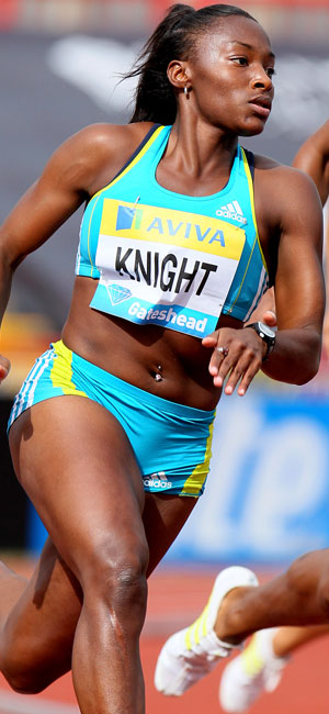 Olympic Runner Bianca Knight