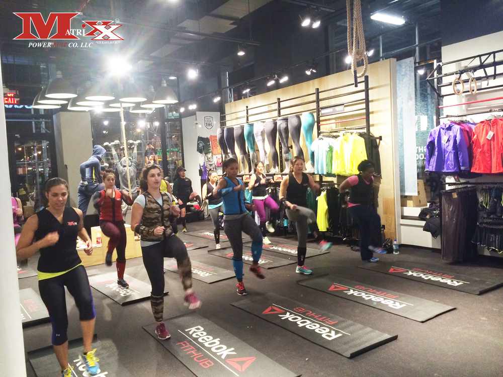 Matrixx Cardio Combat Photo @Reebok FitHub Union Square 11-19-2014