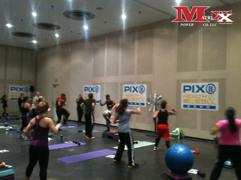 Matrixx Boot Camp @ Pix 11 Health & Wellness Expo 2012