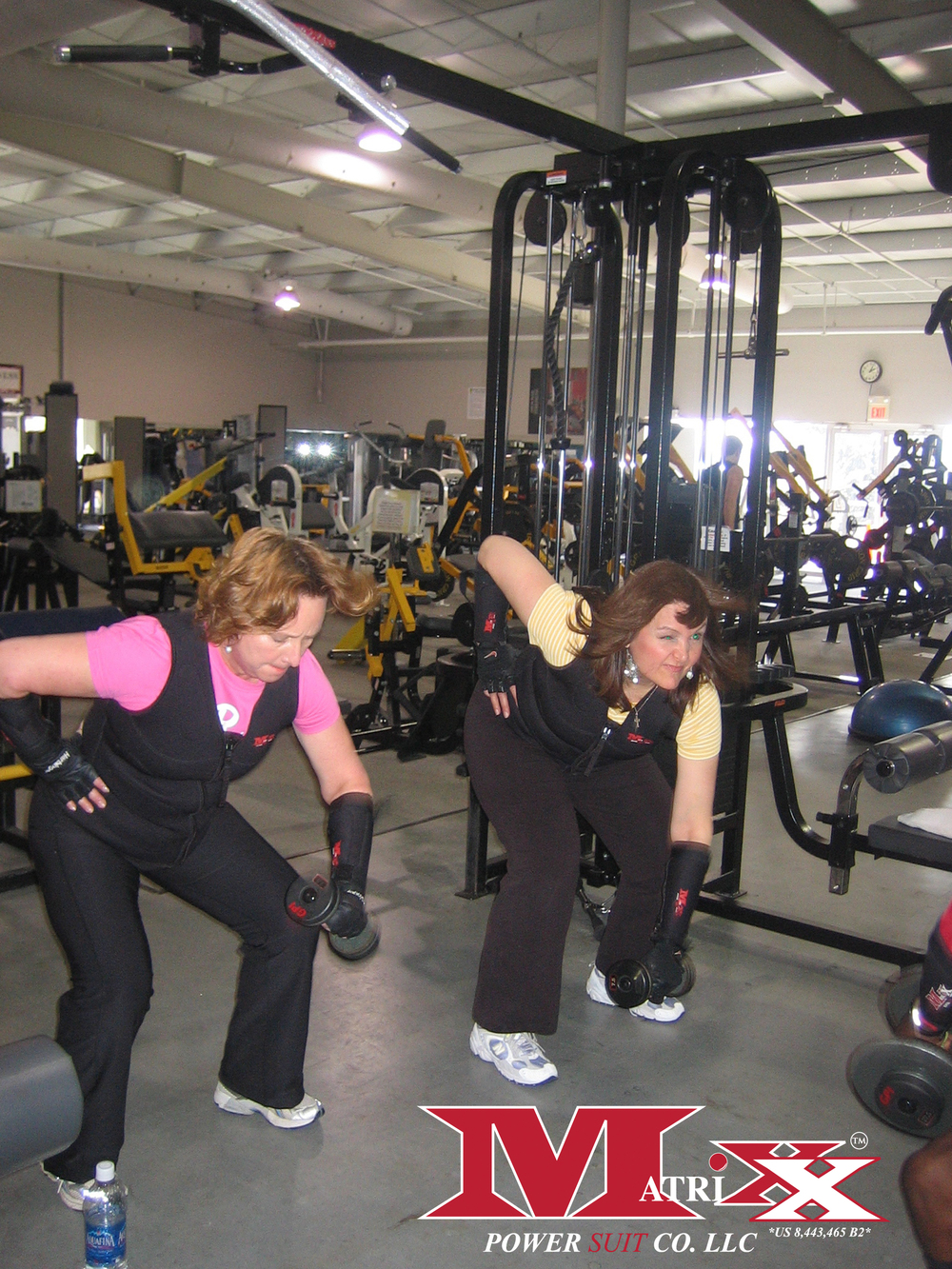 Group Personal Training in the Gym