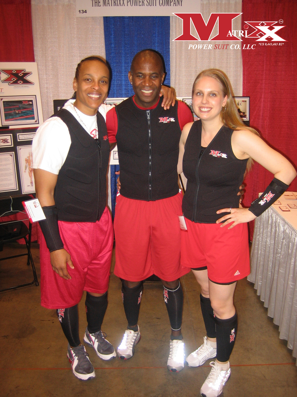Calvin & Holly w WNBA Star Teresa Weatherspoon @ NCAA Women's Final Four 2009