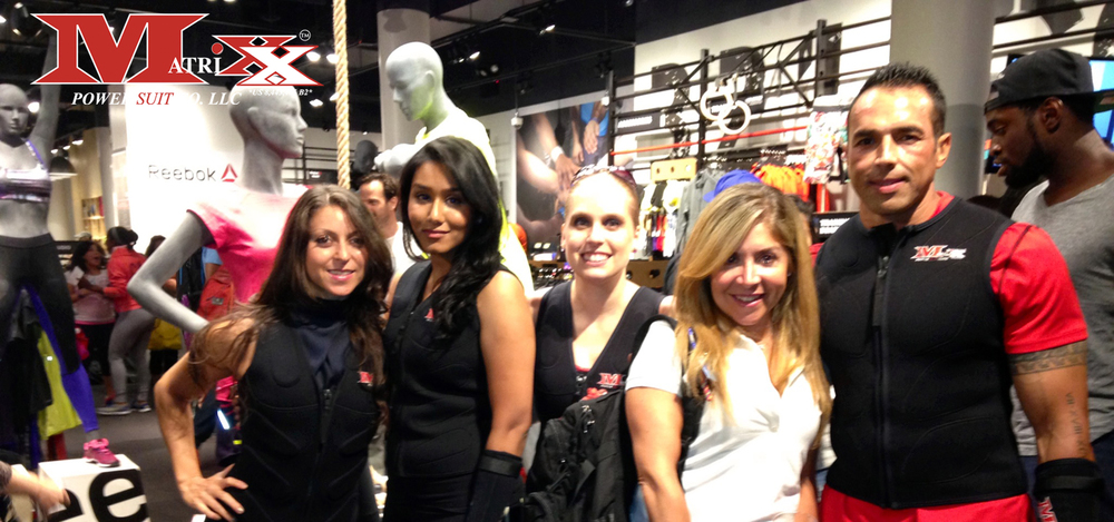 Team Matrixx @ Reebok FitHub Union Square's Grand Opening Party 7-31-14