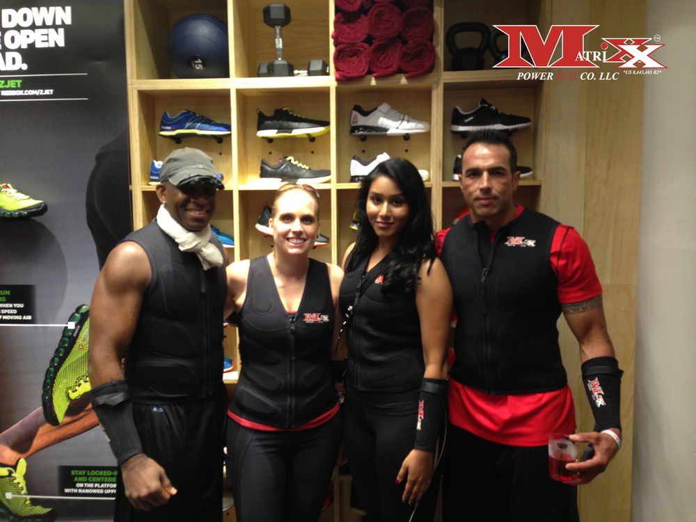 Team Matrixx @ Reebok FitHub Union Square's Grand Opening Party 7-31-2014