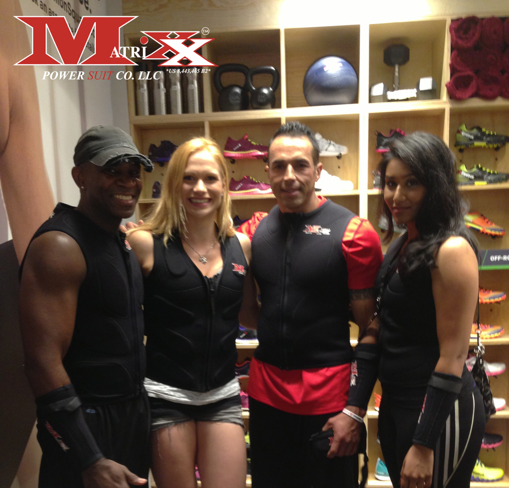 Team Matrixx w Annie Thorisdottir @ Reebok FitHub Union Square's Grand Opening Party 7-31-2014