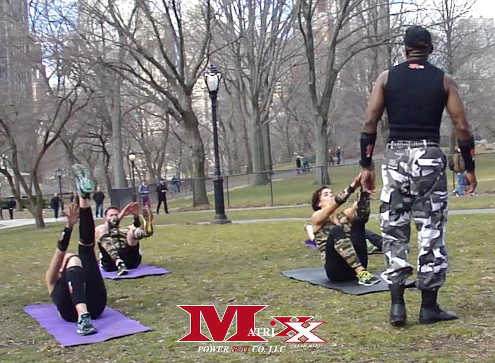 Matrixx Bootcamp in Central Park