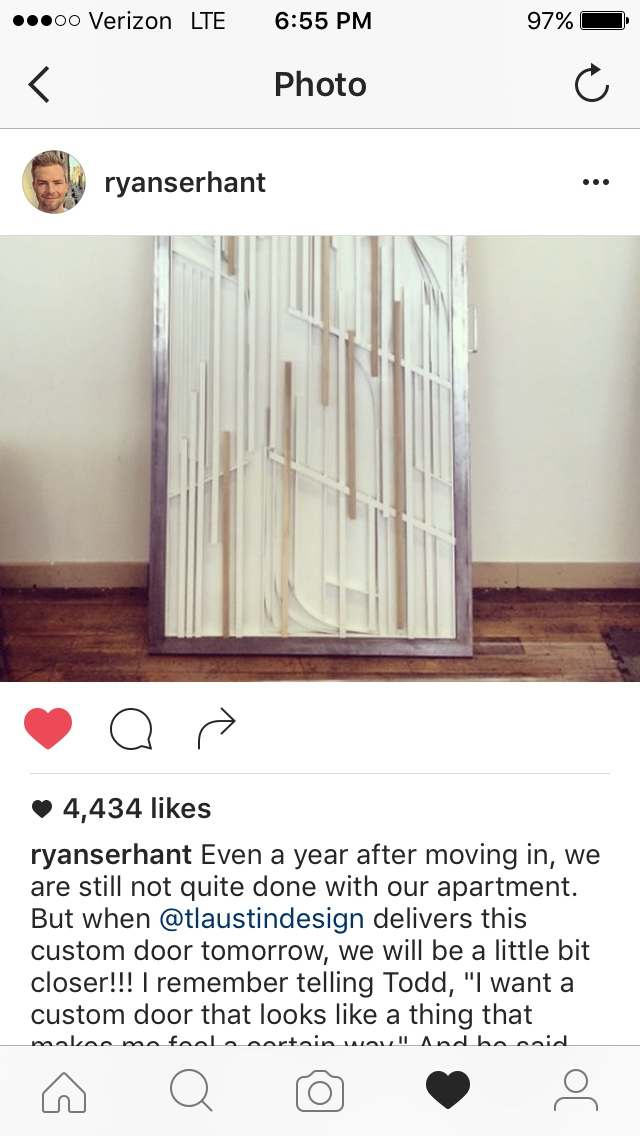 Ryan Serhant Instagram post
