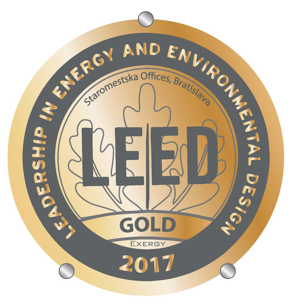 Leed Gold Certificate For Staromestska Offices Bogle Architects