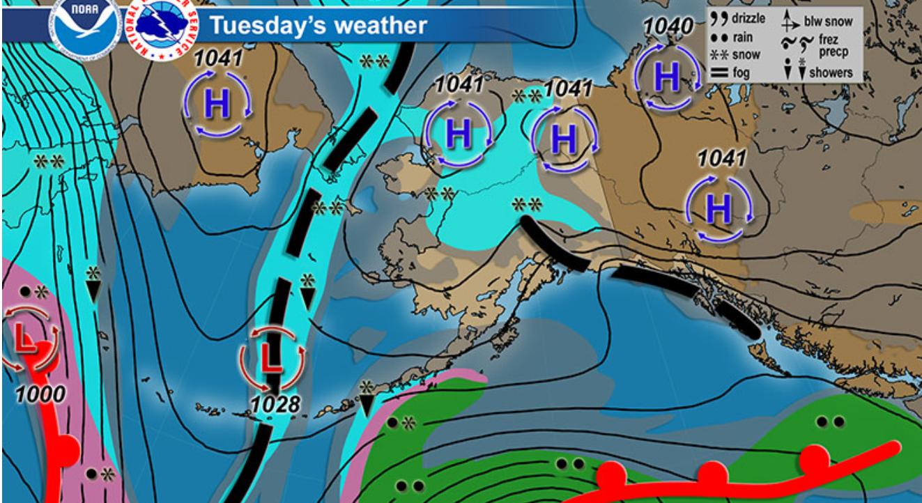 Alaska Winter Weather Forecasting Alaska Avalanche School