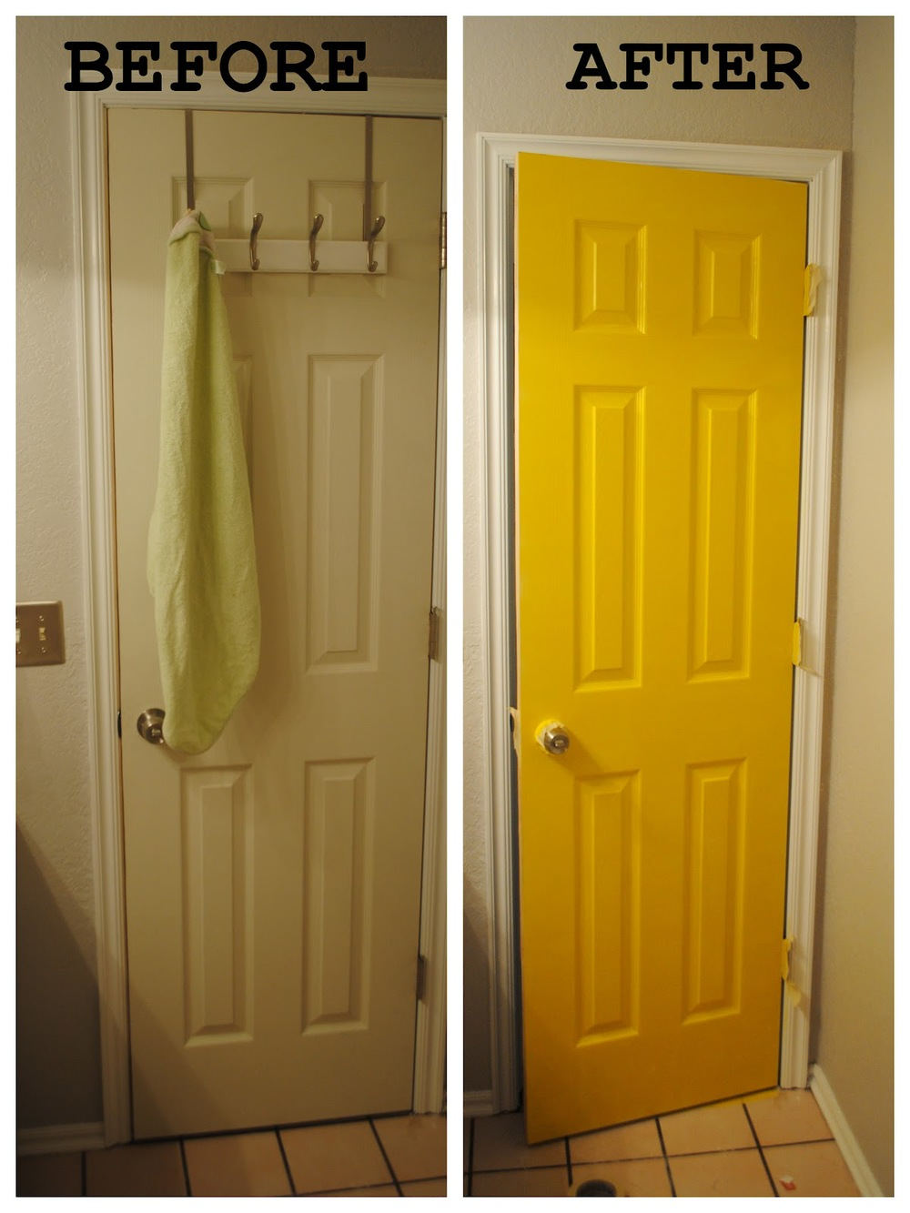 Before and After! & Day 8: Interior Door Colors! u2014 MJG Interiors Manchester Vermont ...