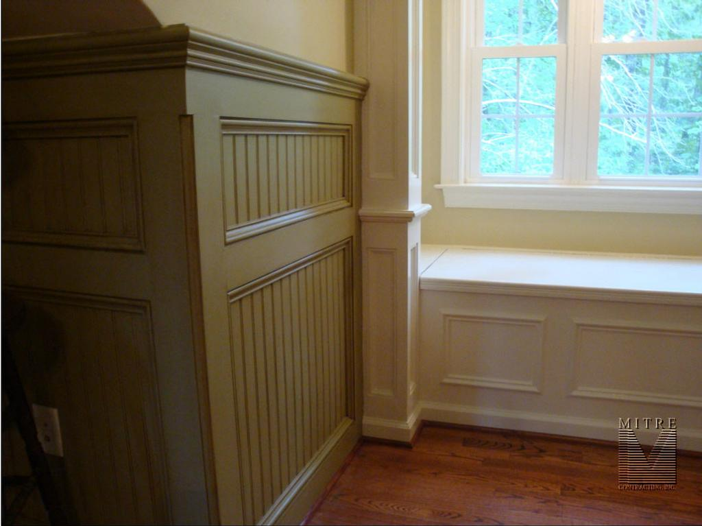 Day 10 Wainscoting Mjg Interiors Manchester Vermont