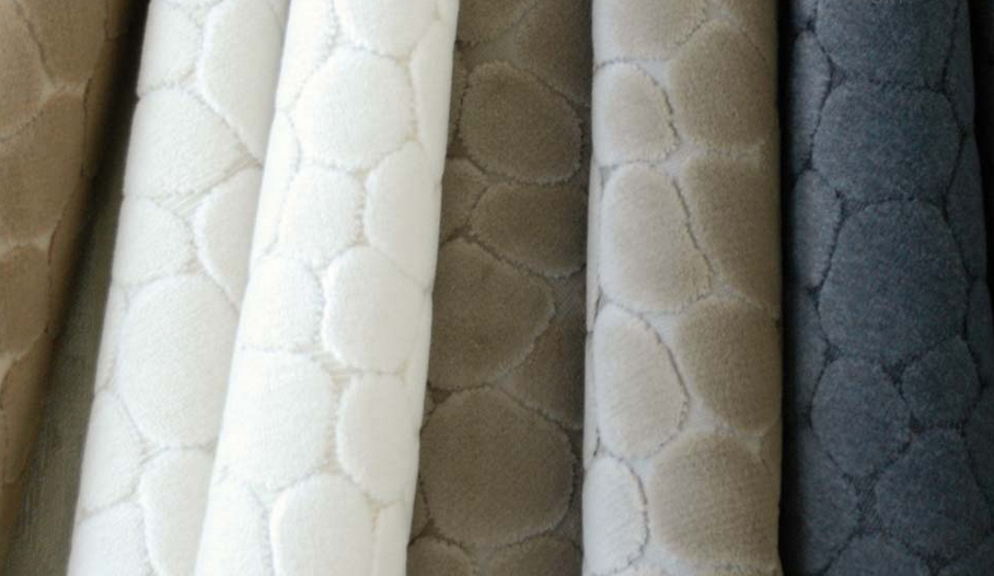 This indoor/outdoor fabric has great texture.