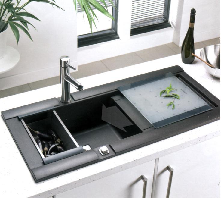 Unique Acrylic Kitchen Sink Element From Interiorchoicekitchens
