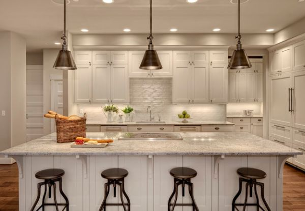 contemporary-kitchen-with-darien-metal-pendants-over-the-kitchen-island