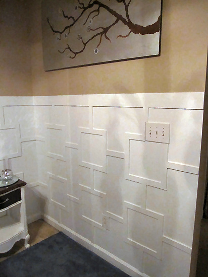 contemporary wainscoting 2
