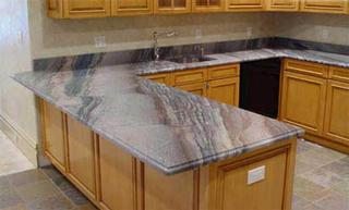 This granite has lots of movement. Make sure you don't mind looking at it every day.