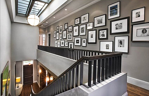 black-and-white-family-picture-gallery-for-interior-design-home-ideas