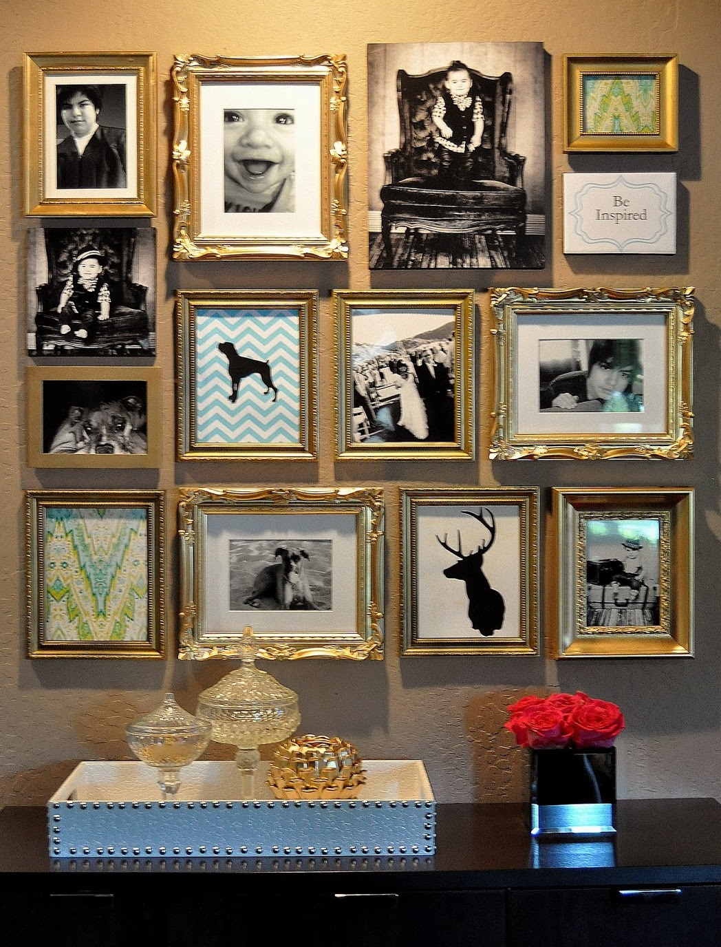 gold-frame-photo-gallery-wall