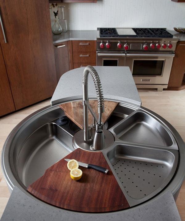 Rotating-Sink