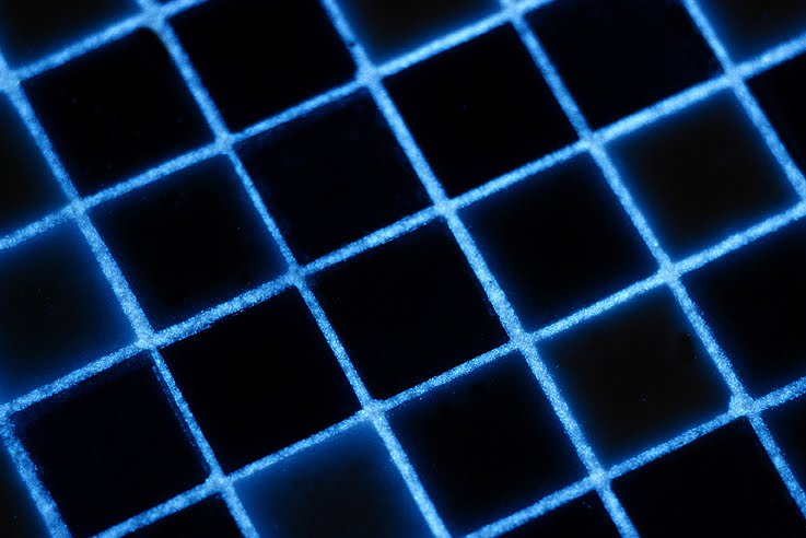 Beauty, Interior, Tiling, Dazzle, Blue Glow, Close Up, 3 x 2