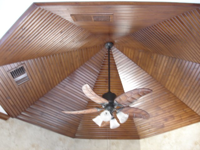 Kitchen Beadboard ceiling