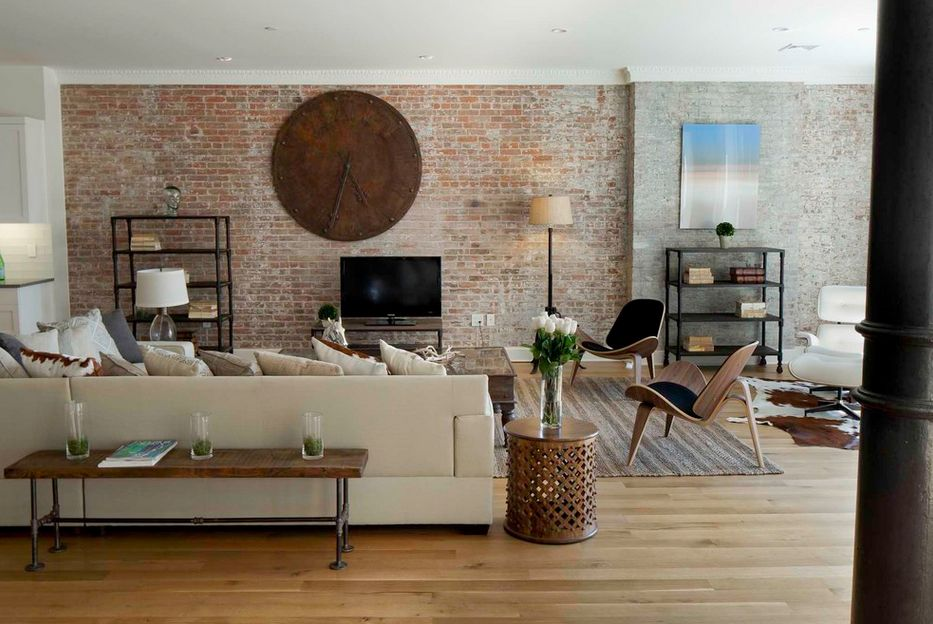 exposed-brick-wall-living-room