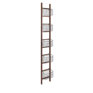 I just sold this wooden ladder with detachable baskets to a client with 3 children.  Each child gets a basket for devices, home work, etc.  And there will be a power strip close by!