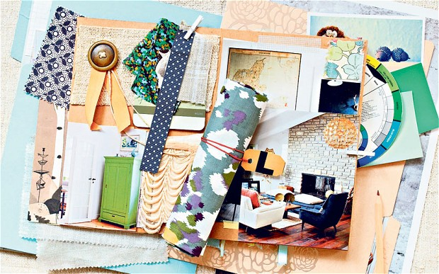 This is what my mood boards usually look like, at least initially. An unfiltered collection of colors, fabrics, images and patterns can be a great launching point for a room design. It allows us to not only see what and where our design inclinations are headed, but also what is  not  working, which can be equally important.