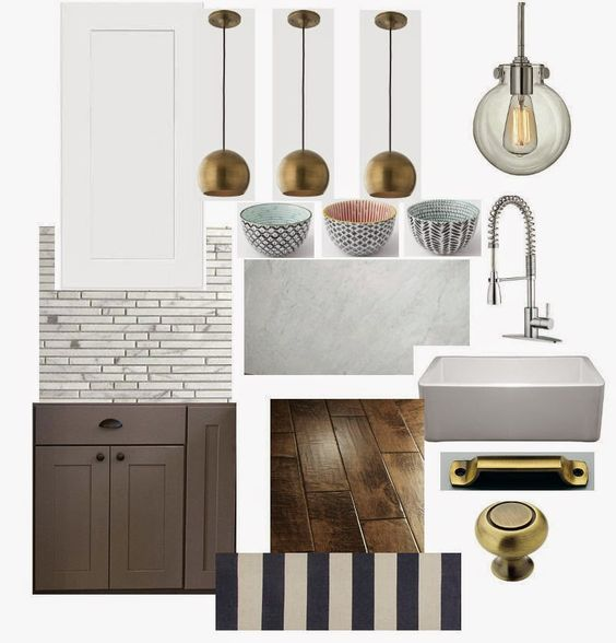 Now this looks like a kitchen mood board I'd like to see come to life! Even something as small as these bowls can really inform and inspire a room design.