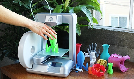 3D Printers now come as table top versions.  What would you print if you had one?  How about your kids?