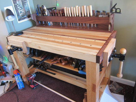 Yes, a wood working bench is a MAKER SPACE!