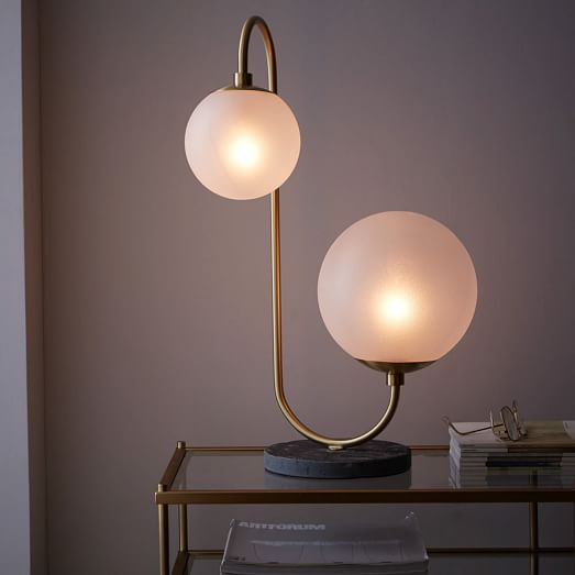 West Elm Pelle table lamp