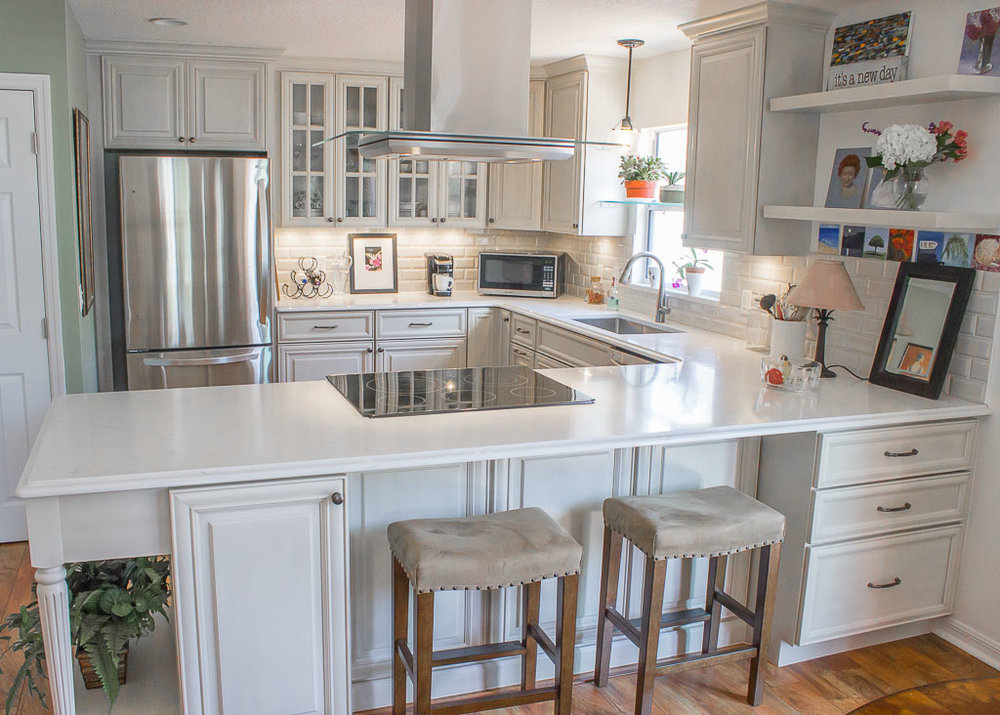 Cabinetry is, without a doubt, our specialty. Click here for more photos of our indoor work.