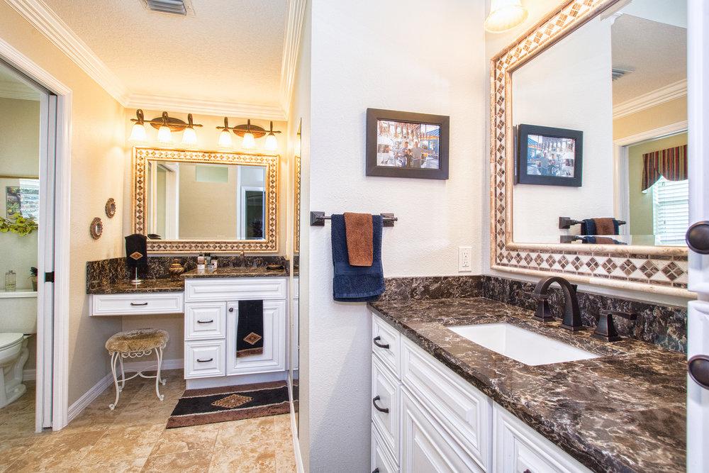 Click for more bathroom remodels.