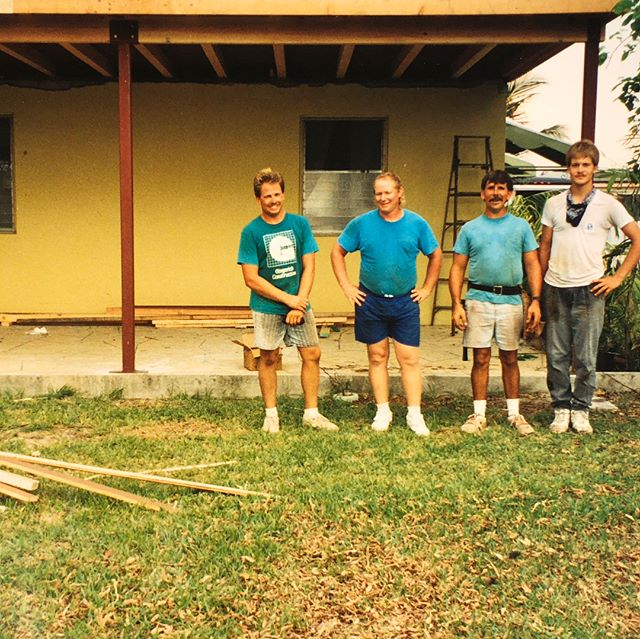 Throwing it way back! Phil Gingerich took a crew down to Homestead, FL in August of 1992 help rebuild destroyed homes in the wake of Hurricane Andrew. #tbt